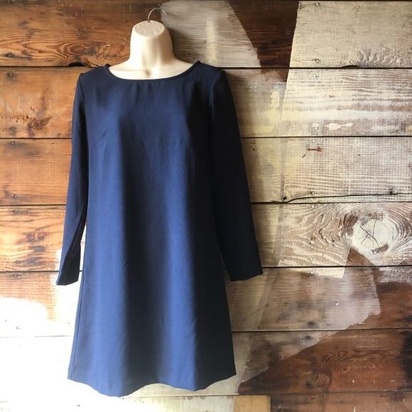 American Apparel Dresses & Skirts - American Apparel Size Small Navy Long Sleeve Dress
